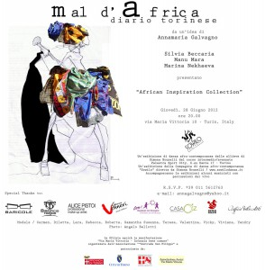 MALDAFRICA sfilata - 2012