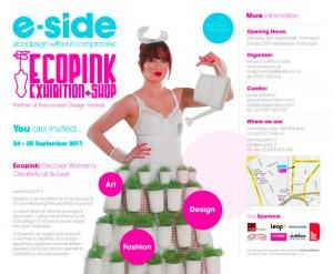 e-side ecopink London - 2011