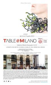 T'able fuori salone Milano - 2015