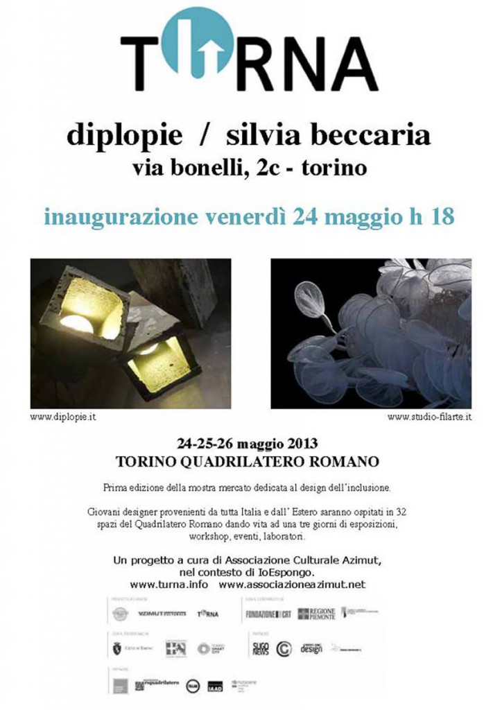 Turna - Mostra design dell'inclusione - 2013