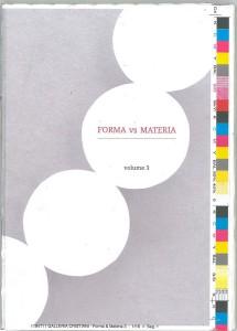 Forma vs materia. Incursioni nel gioiello contemporaneo - 2011