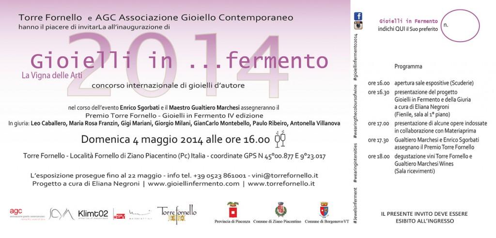 Gioielli in Fermento - 2014