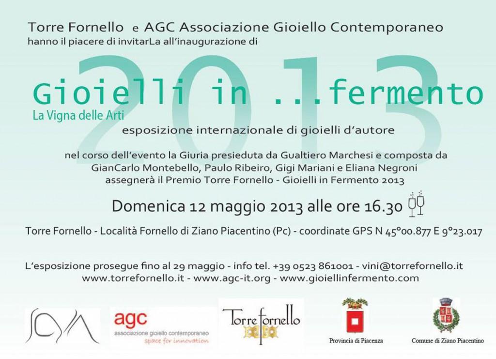 Gioielli in fermento - 2013