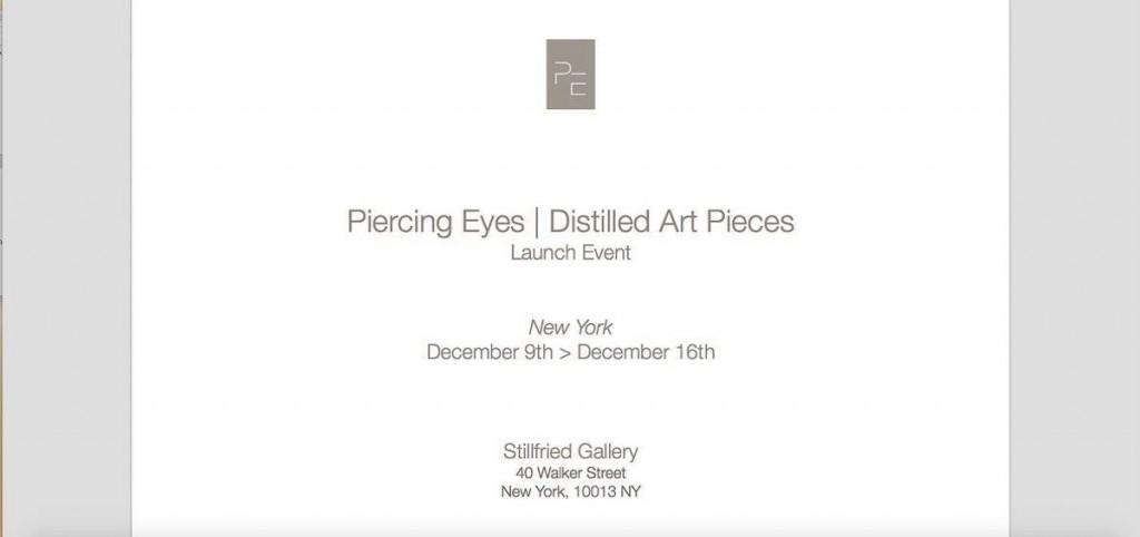 Piercing Eyes/Distilled Art Pieces - 2015