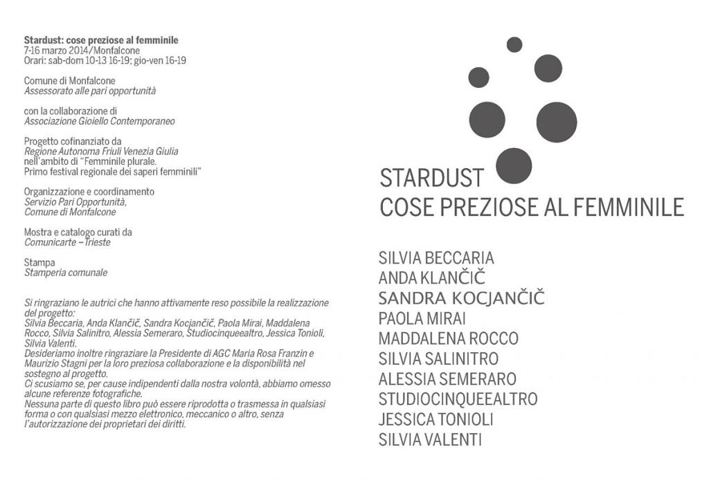 Stardust. Cose preziose al femminile - 2014