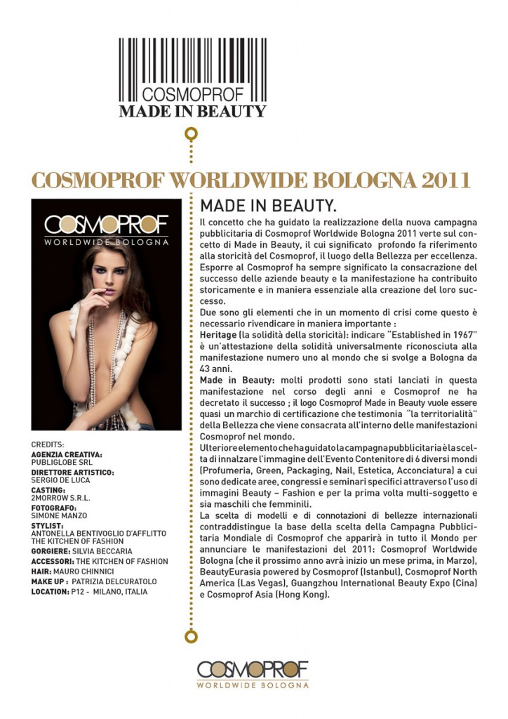 COSMOPROF MADE IN BEAUTY - 2011