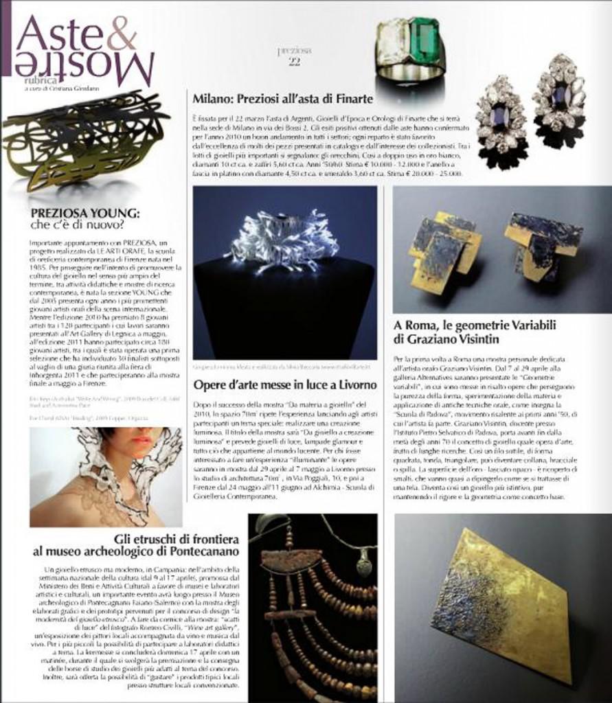 Preziosa fashion jewellery style - 2011