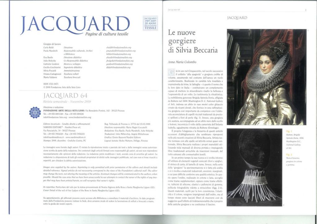 Jaquard - 2009