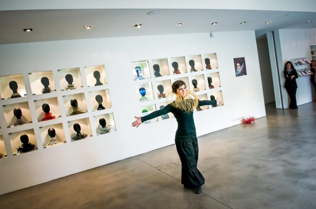 """""""Le gorgiere di Silvia Beccaria"""", bookshop Fondazione Sandretto Re Rebaudengo"""