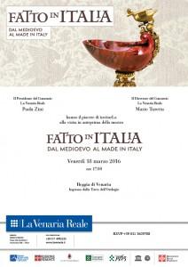 Fatto in Italia, dal Medioevo al made in Italy